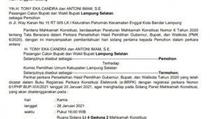 Panitera MK Tetapkan Jadwal Sidang Perselisihan Pilkada ...