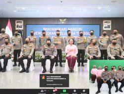 Bhayangkari Polres Batu Bara Upacara Peringatan HKGB ke 69 Tahun 2021 Secara Virtual.
