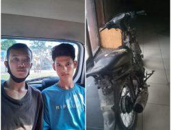 Miris !!! Nekat Curanmor, 2 Pemuda Pecandu Sketer Ditangkap Tekap Polresta Deli Serdang – Polda Sumut